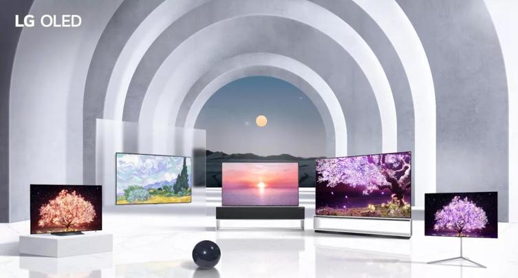 LG presenta televisores OLED Evo en el CES 2021