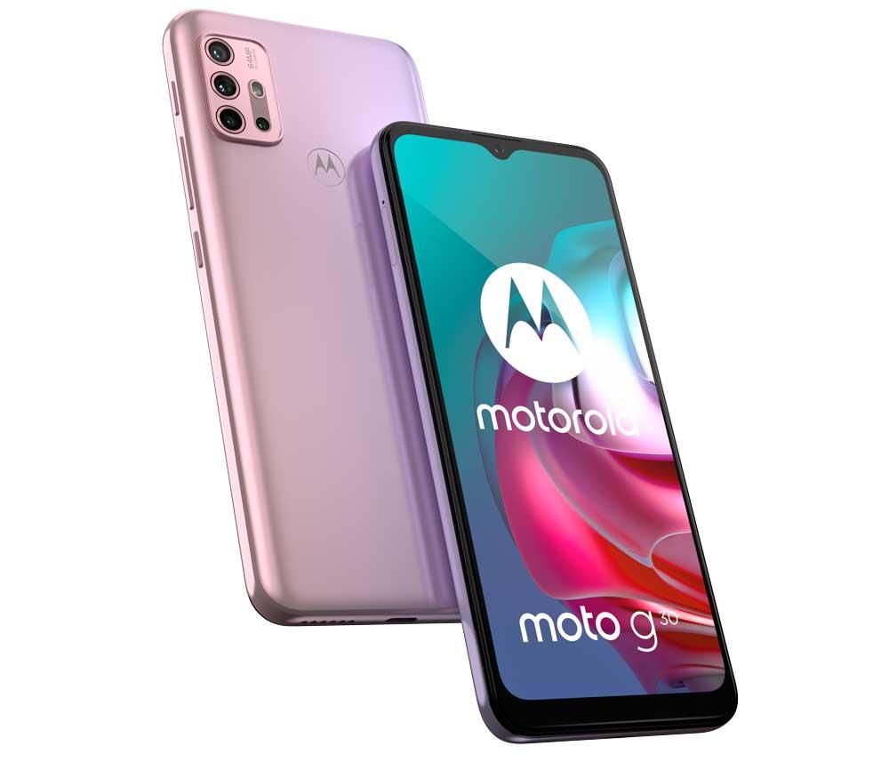 Moto G30: pantalla de 90Hz y cámara de 64 megapixeles ya disponible en México