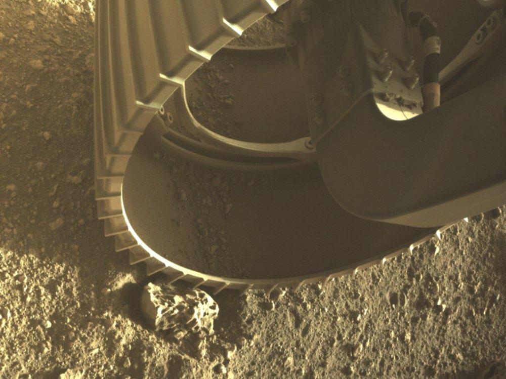 NASA revela videos del amartizaje del rover Perseverance