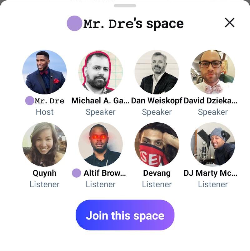 Twitter libera Spaces, su función tipo ClubHouse, en Android