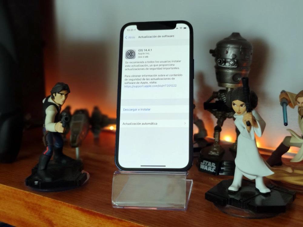 ¿Usas iPhone? Por seguridad actualiza ya a iOS 14.4.1