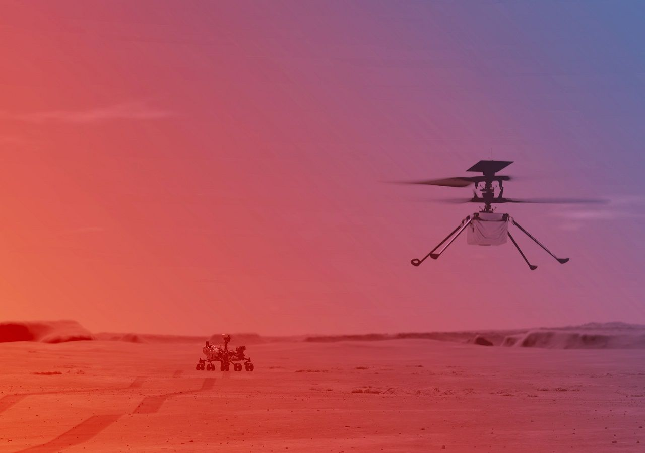 Ingenuity: la proeza de volar en Marte