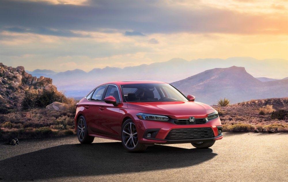 Primer vistazo oficial al nuevo Honda Civic 2022