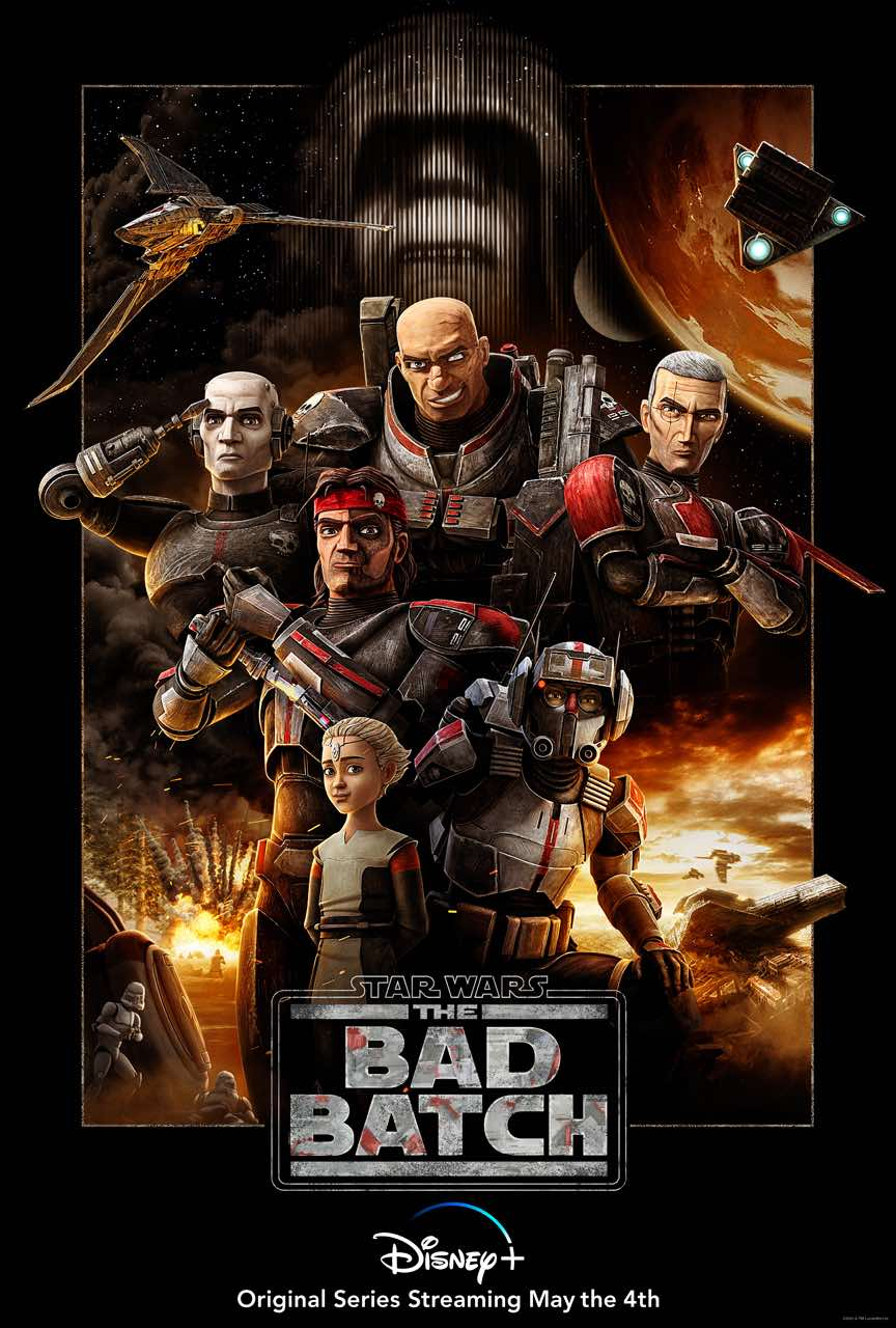 Revelan el póster oficial de Star Wars: The Bad Batch