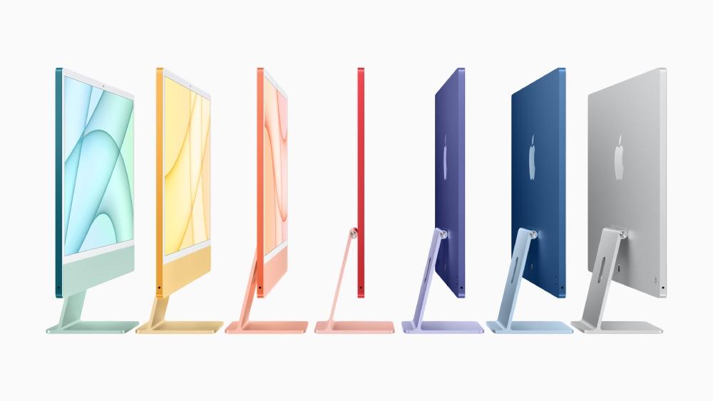 Nueva iMac se llena de vida con 7 colores y chip M1 de Apple