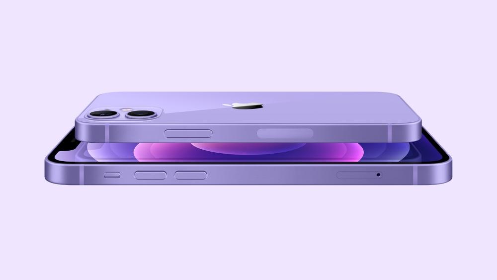 iPhone 12 se presenta en color morado