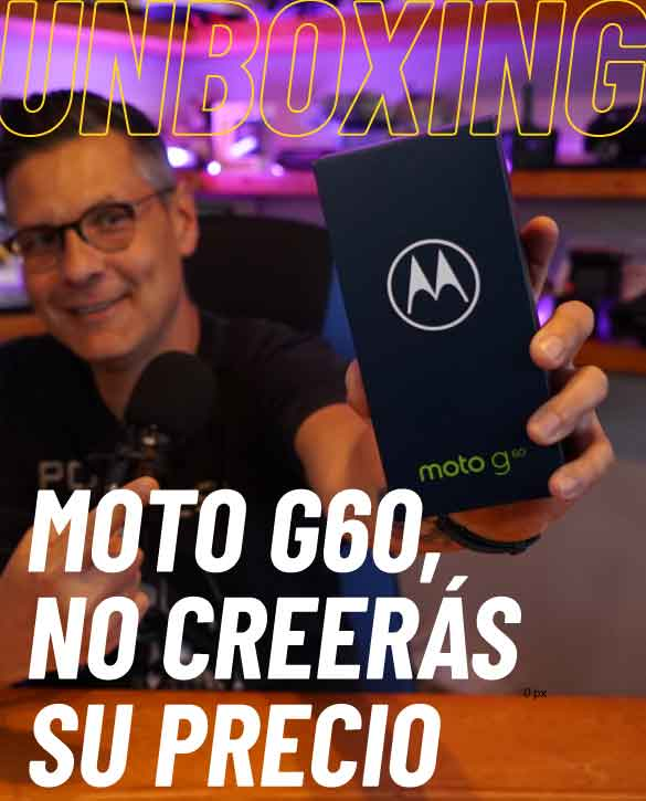 Video: Unboxing Motorola Moto G60