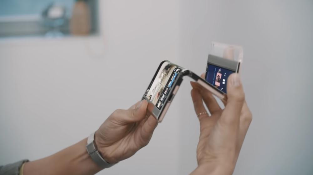 El celular Samsung con pantalla deslizable es una realidad