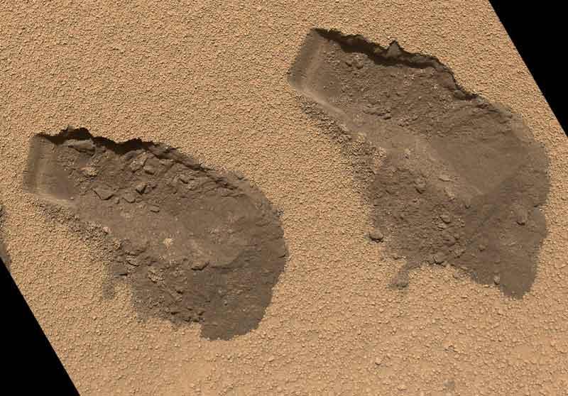 Rover Curiosity revela restos de compuestos orgánicos en Marte