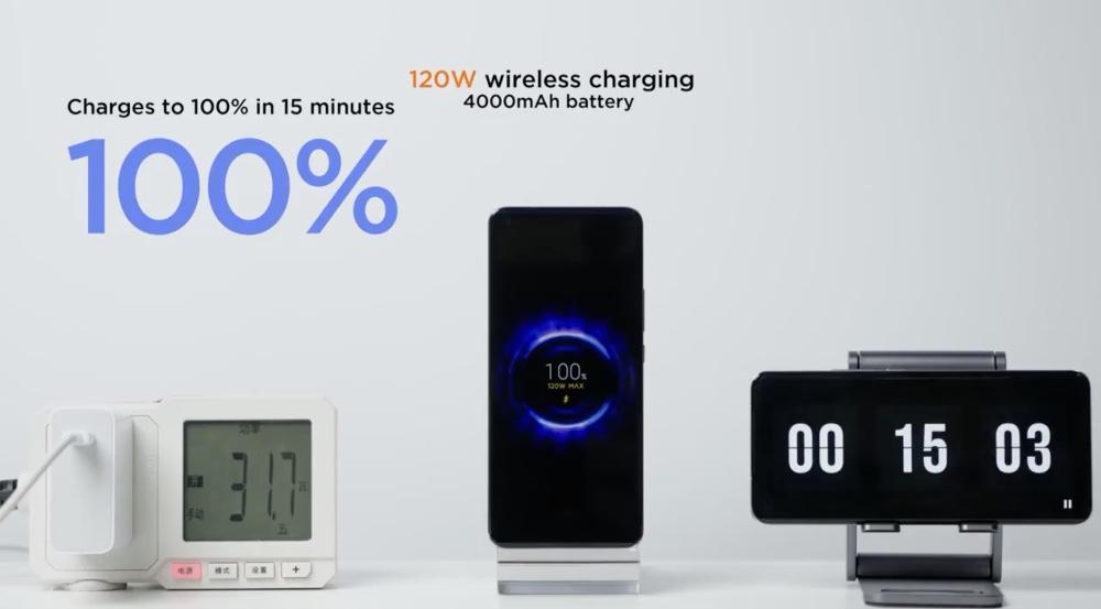 Xiaomi presume su HyperCharge y carga un celular en 8 minutos