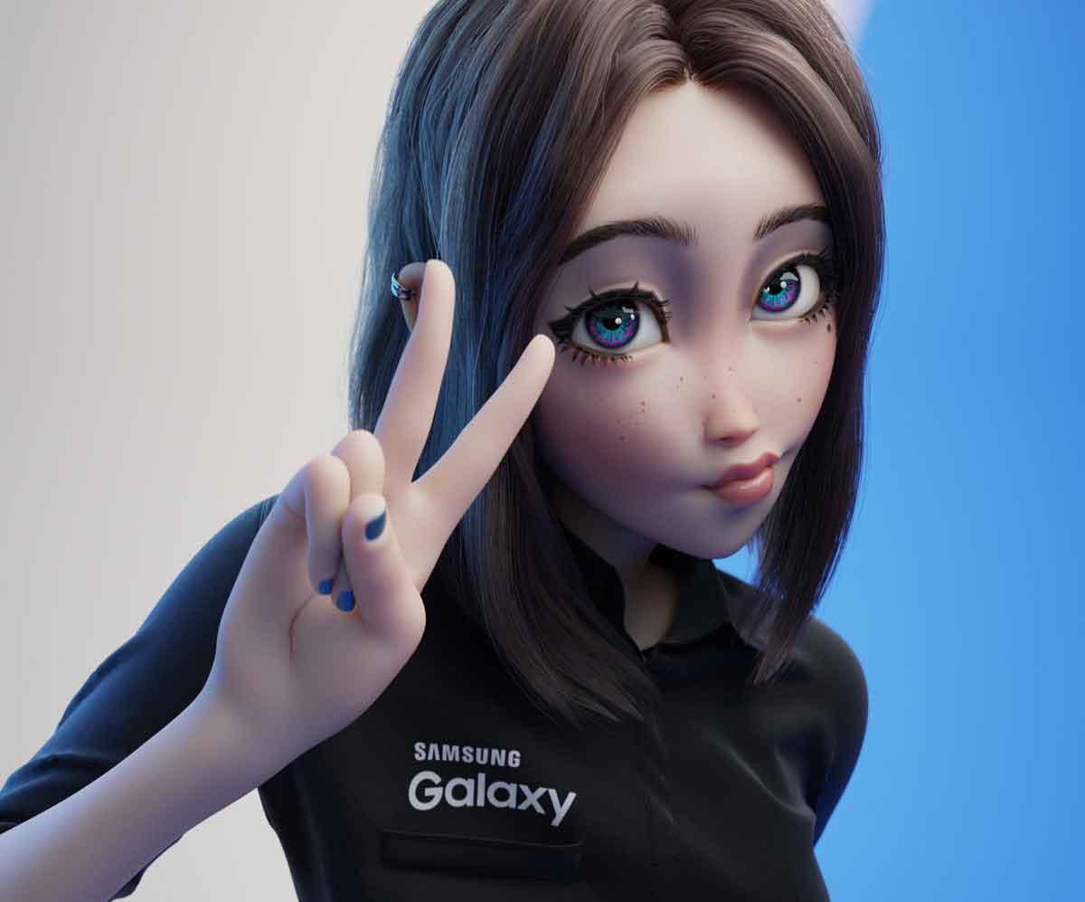 Conoce a Sam, la nueva asistente de Samsung que está causando furor