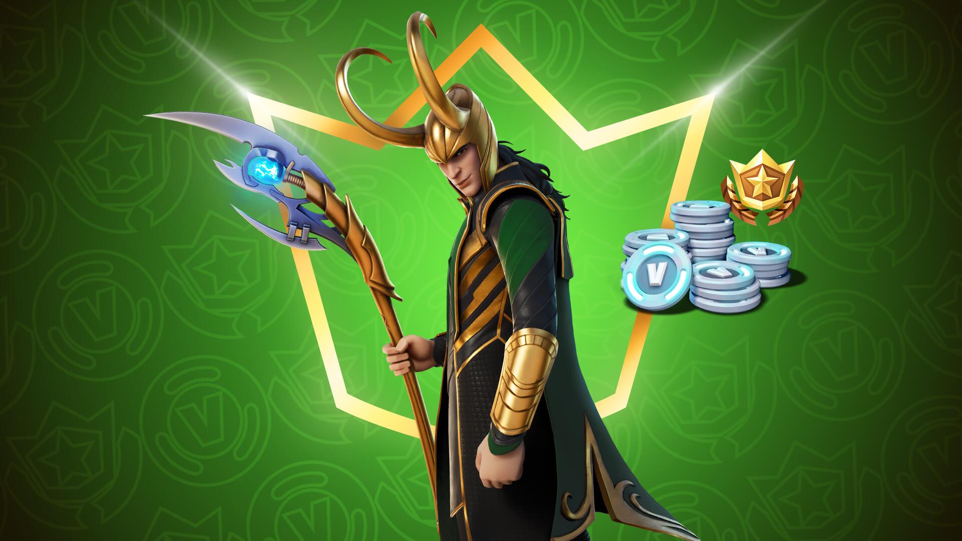 Loki estará disponible en Fornite a partir del 1 de julio