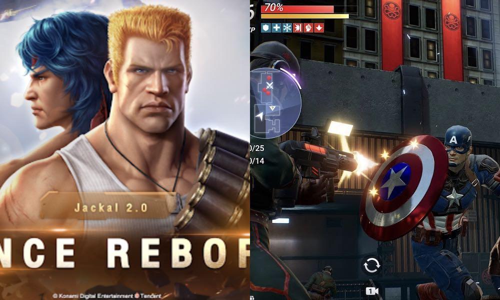 Contra Returns y Marvel Future Revolution, próximamente en celulares