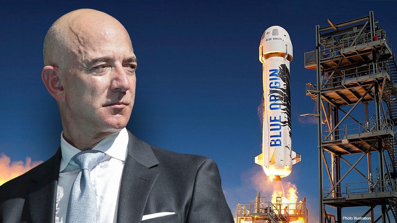 Jeff Bezos cumple el sueño de viajar al espacio