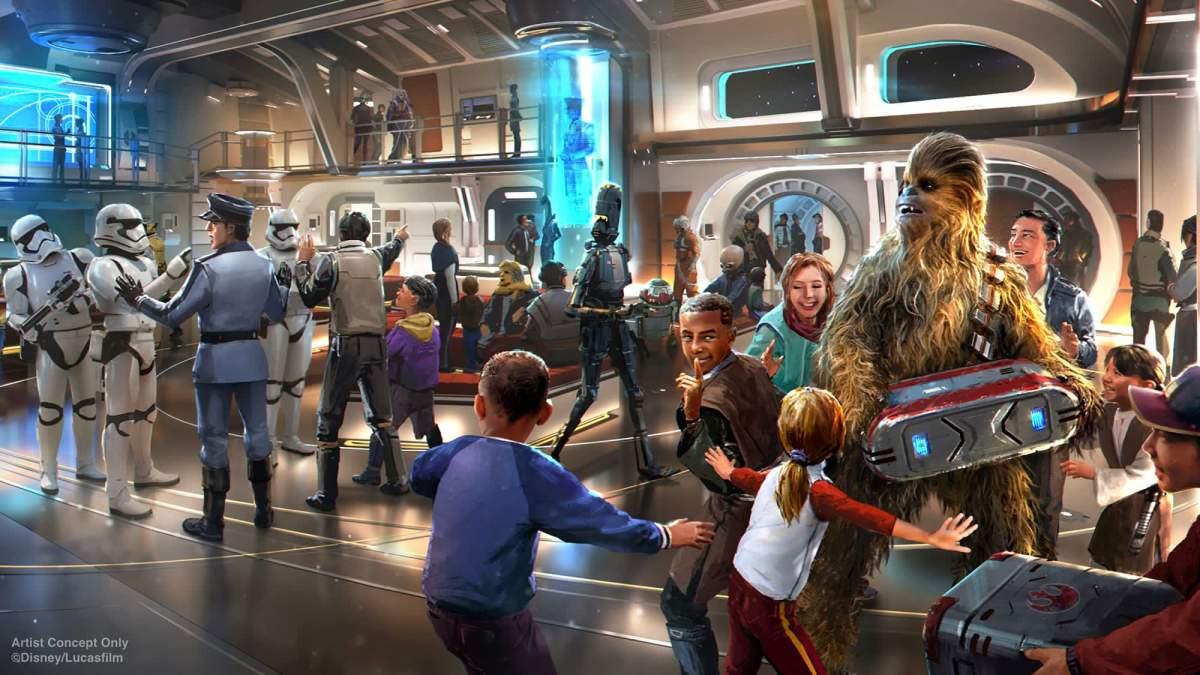 Hotel Star Wars: Galactic Cruiser de Disney, un lujo para los fans