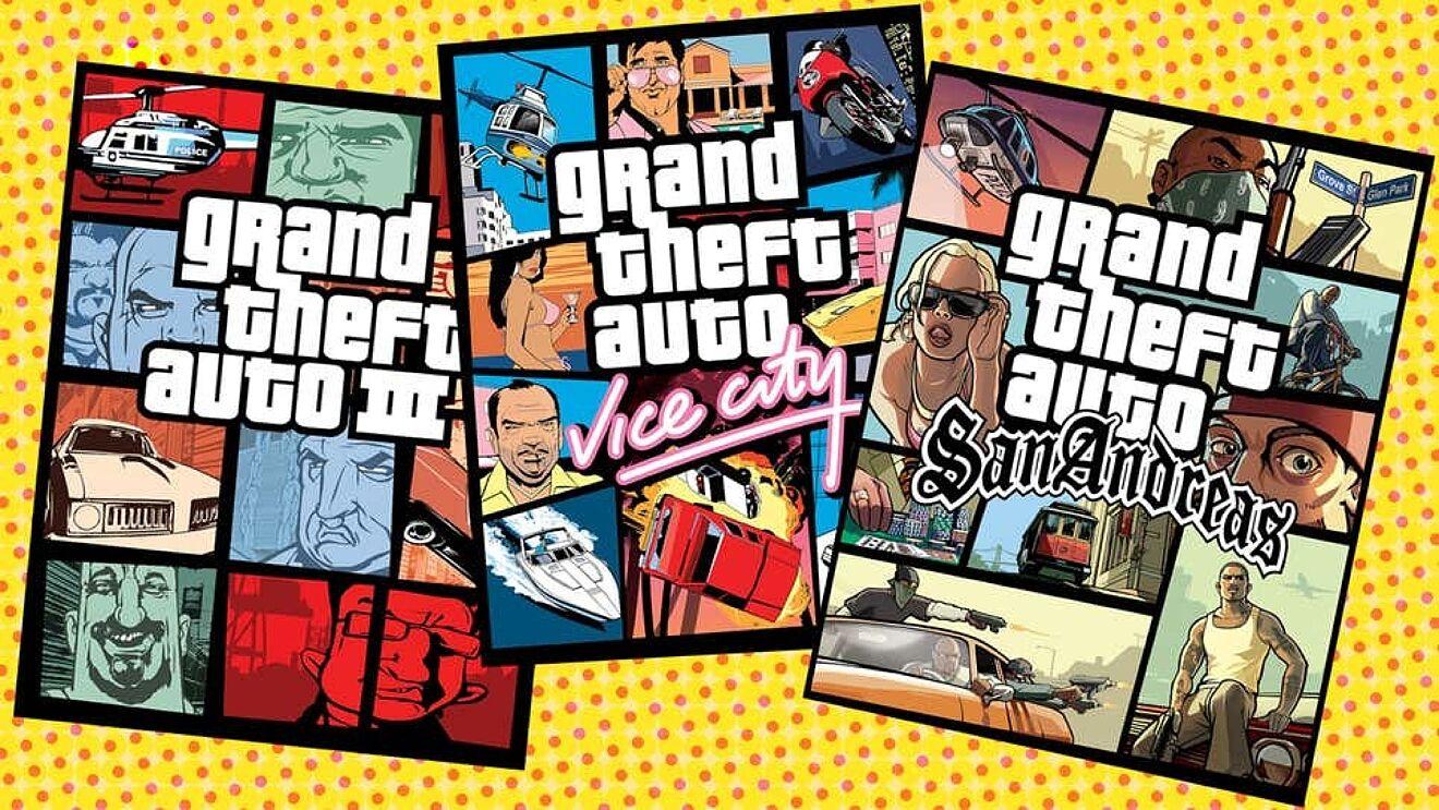 Rockstar prepara remasterización de GTA 3, GTA Vice City y GTA San Andreas