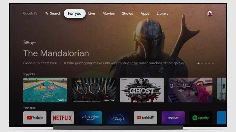 Google TV, la app que sustituye a Play Películas
