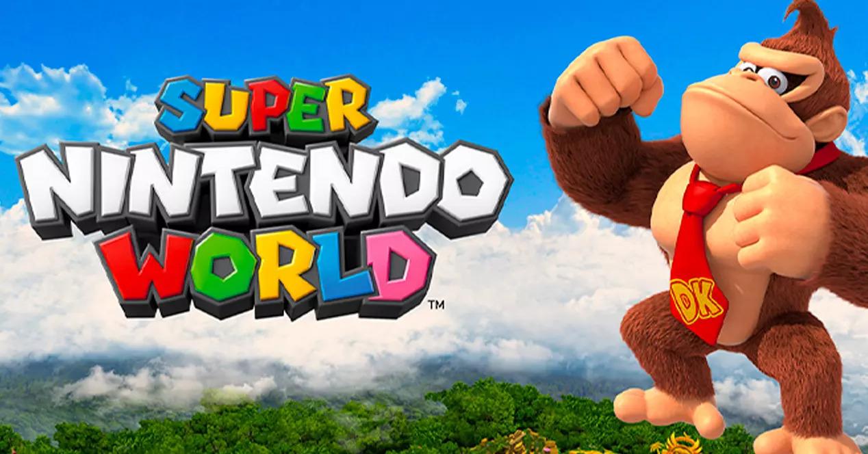 'Donkey Kong' formará parte de Super Nintendo World