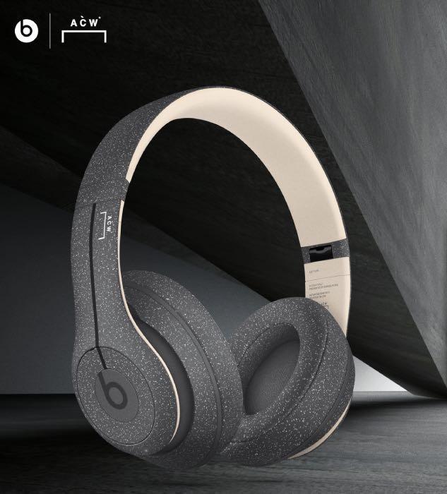 Así se ven los nuevos Beats Studio3 Wireless edición limitada A-COLD-WALL