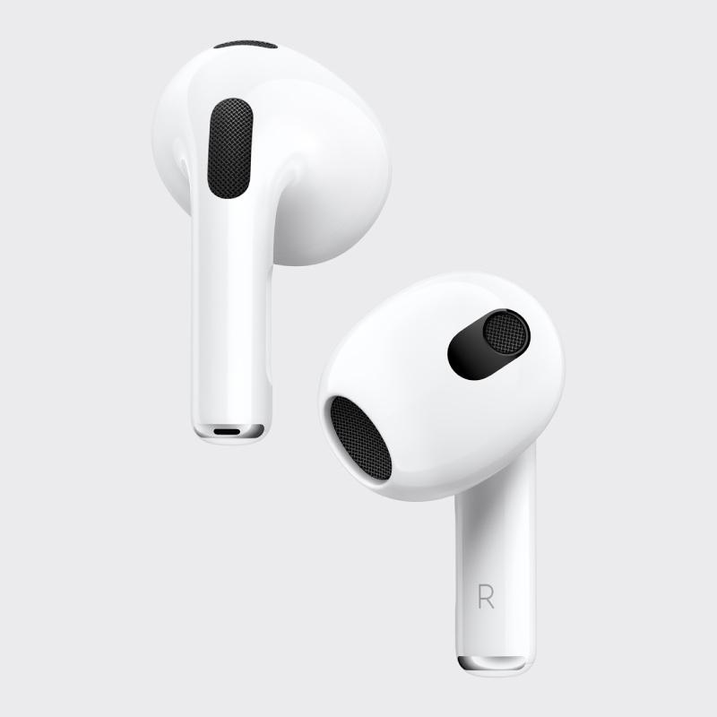 Estos son los nuevos AirPods 3, de Apple