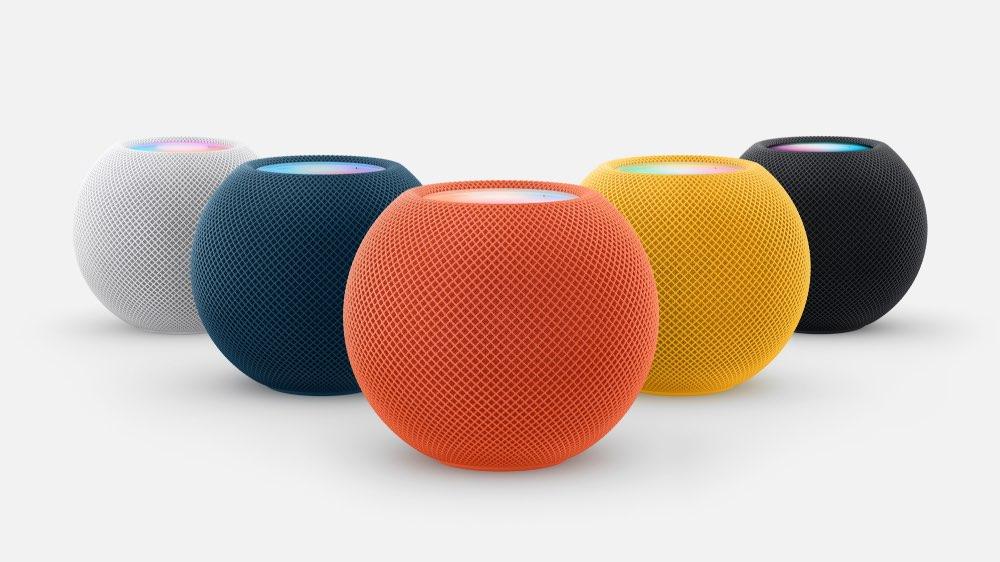 HomePod mini estrena tres nuevos colores